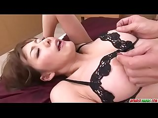 Akari Asagiri, Asian milf in heats, anal fucked on cam