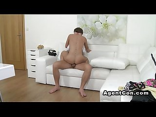 Perfect firm ass amateur bangs in casting