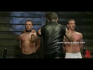 Gay slave gets his asshole probed