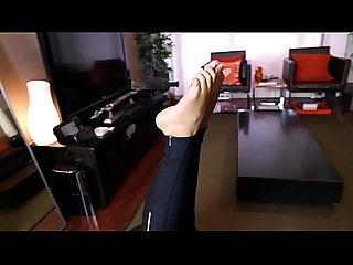 Becky s foot fetish film a sneak peek at maya s sexy feet excl
