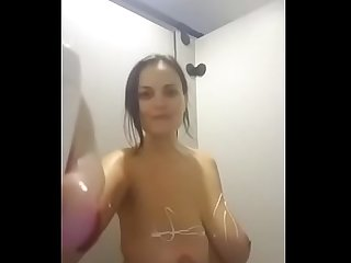 Big Tits Shower At The Gym