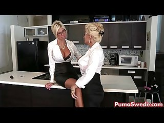 Euro babe puma swede fucks the office slut comma bobbi eden