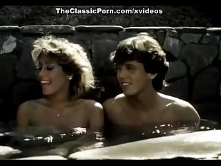 Melissa Melendez, Candie Evans, Tom Byron in college girls banged at hot 1970 po