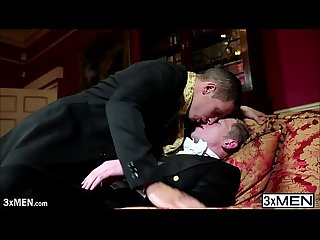 Lucky dudes daniel johnson and paul walker enjoys gay interracial