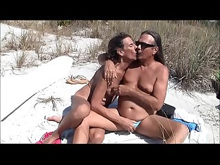 Old tranny in beach suck-pornandbeer.com
