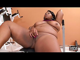 Evasive angles big girl workout 2 with lady finesse