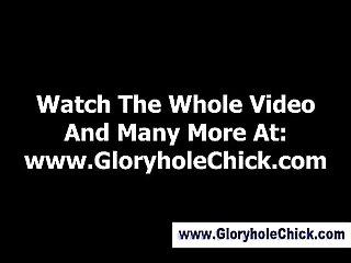 Watch gloryhole amateur swallows cum