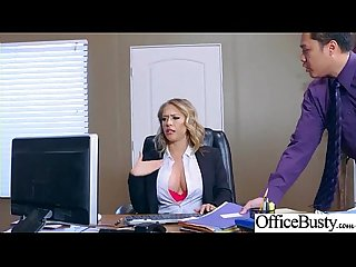 Sex Tape With Slut Busty Hot Office Nasty Girl (Kagney Linn Karter) video-30