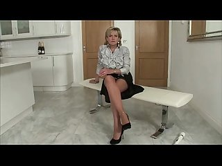 Horny mature british babe