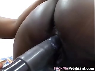 Fuckmepregnant 2 2 217 pregnant black slut pleasured by friend hi 2