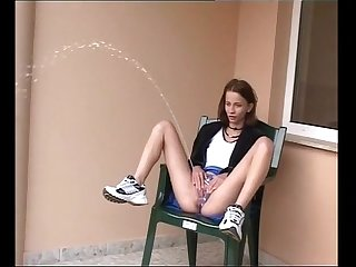 Sexy kinky skinny teen outdoor power piss 3 period period period more on girlsvideo period org