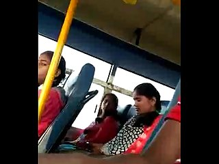 Indian dick flash in bus