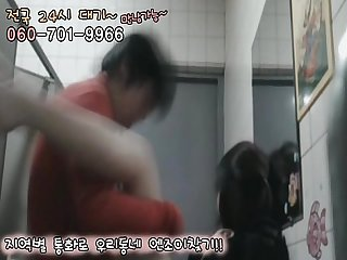 Korean bathroom Sex