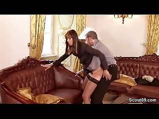 German Monster Cock Fuck Petite Teen Anal