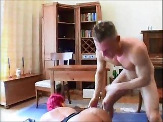 Huge tit german bbw gets fucked hard