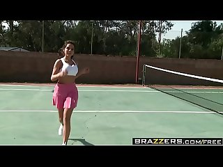 Brazzers big tits in sports playing with my tennis balls scene starring yurizan beltran and jord