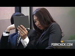 Jav secretary fucked by her older boss more at pornchicki period com