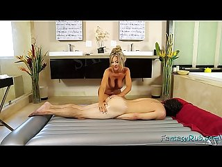 Blonde Mature Rides a Big Dick