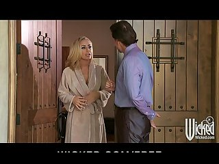 Stunning blonde milf nicole aniston fucks her daughter S teacher