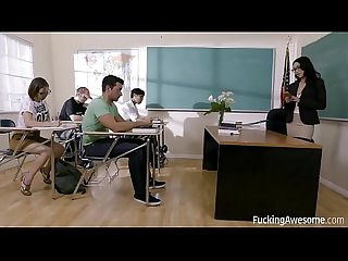 FuckingAwesome - Banging The Teacher - Vicki Chase
