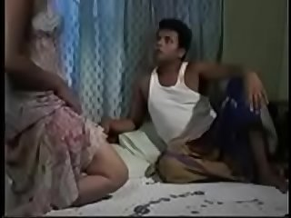 Sri lankan couple making love in the bed new
