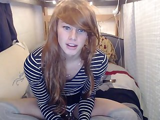 Crossdresser dd Camshow from sexcamtranny com