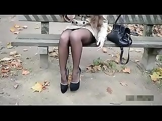 Best Belgian Mom Flashing in 8 Inch heels. See pt2 at goddessheelsonline.co.uk
