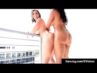 Sixty Nine Milfs Sara Jay & Ms Raquel Tongue Fuck!