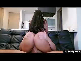 Amateur latina MILF with tight ass and big boobs gets fucked
