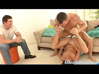 All Anal All The Time Haley Tells BF Watch Her Get Fucked!