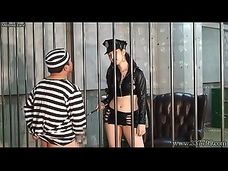 Mldo 139 a prisoner is dominated by a woman guard in ejaculation management