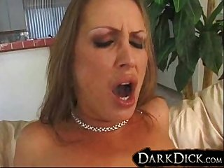 Mandy Bright Fucked Hard Interracial