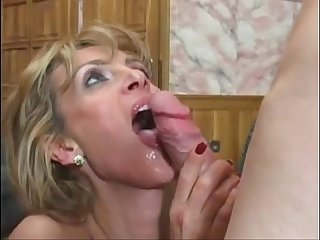 German milf fuck young boy