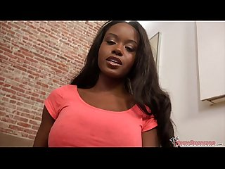 Big tits ebony jezabel vessir sucks excl