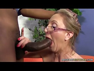 Hot cougar jenna covelli takes two bbc S