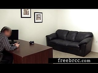 Innocent spinner taytum auditions for backroom casting couch