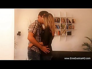 Blonde milf learns lovemaking