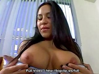 Babe Blows Fat Cock