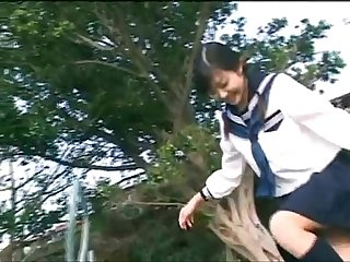 Hot Japanese School Girl