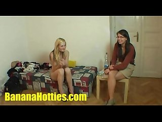 Fresh tereza double bj and threesome at the 1st casting