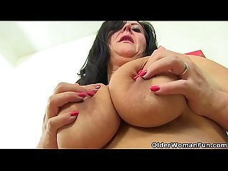 British milf Katie Coquard needs a good stuffing