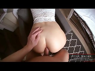Anal With Beauty Angel! Amateur RolePlay! AliceMargo.com