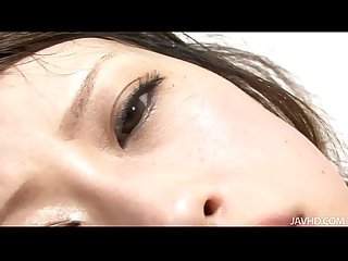 Cock loving kanae serizawa is on her knees sucking a hard dick before being fuck