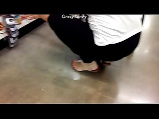 Sexy Pink Candid toes w/Face Shot