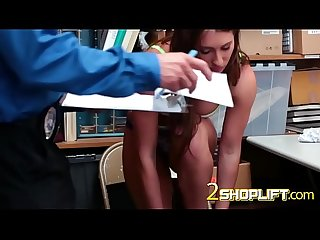 Tiny cunt stretched with hard dick