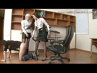RuthlessMistress.com - Office worker was seduced to be a sub