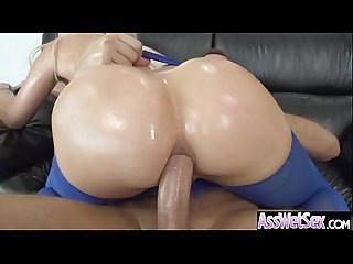 (anikka albrite) Curvy Big Oiled Butt Girl In Hard Style Anal Action mov-06