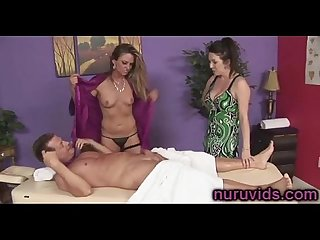 Hot threesome fuck