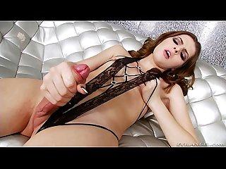 T girl vixxen goddess masturbates