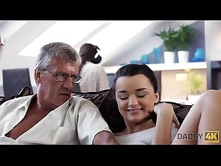 DADDY4K. Hot Erica cheating on her bf with his dad